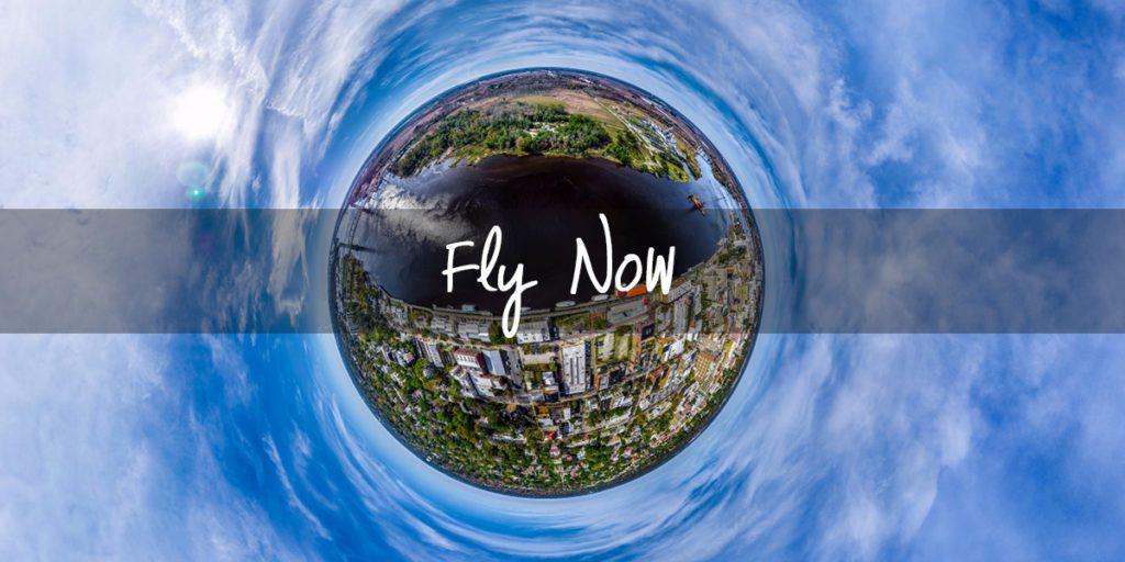 WebVR Experience, Aerial 360 Virtual Tour